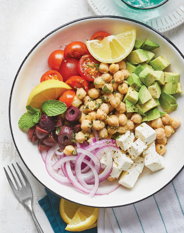 Greek Chickpea Bowl