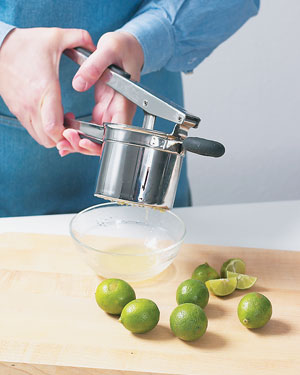 How to Juice Key Limes