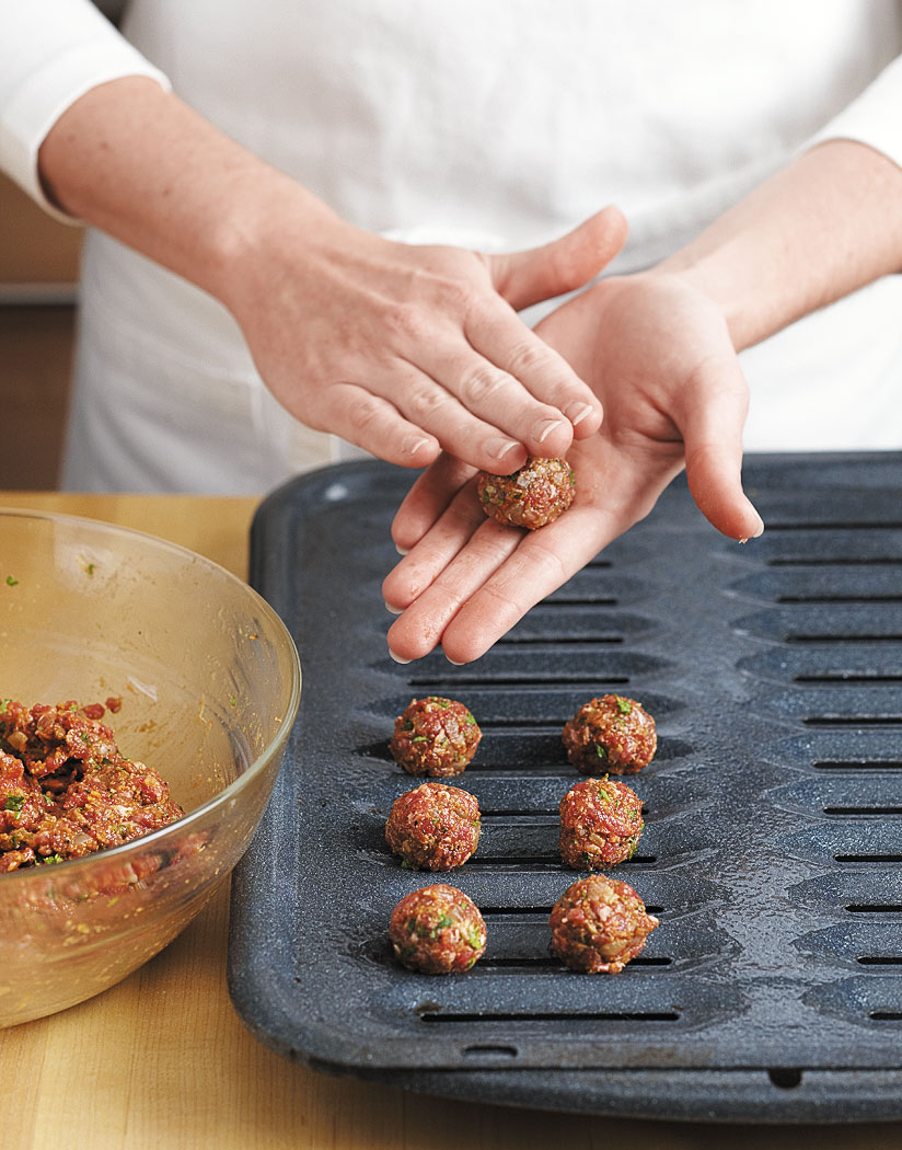 Mini-Bacon Meatballs