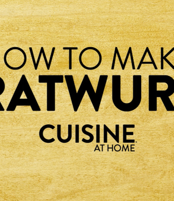 How to Make Classic Bratwurst