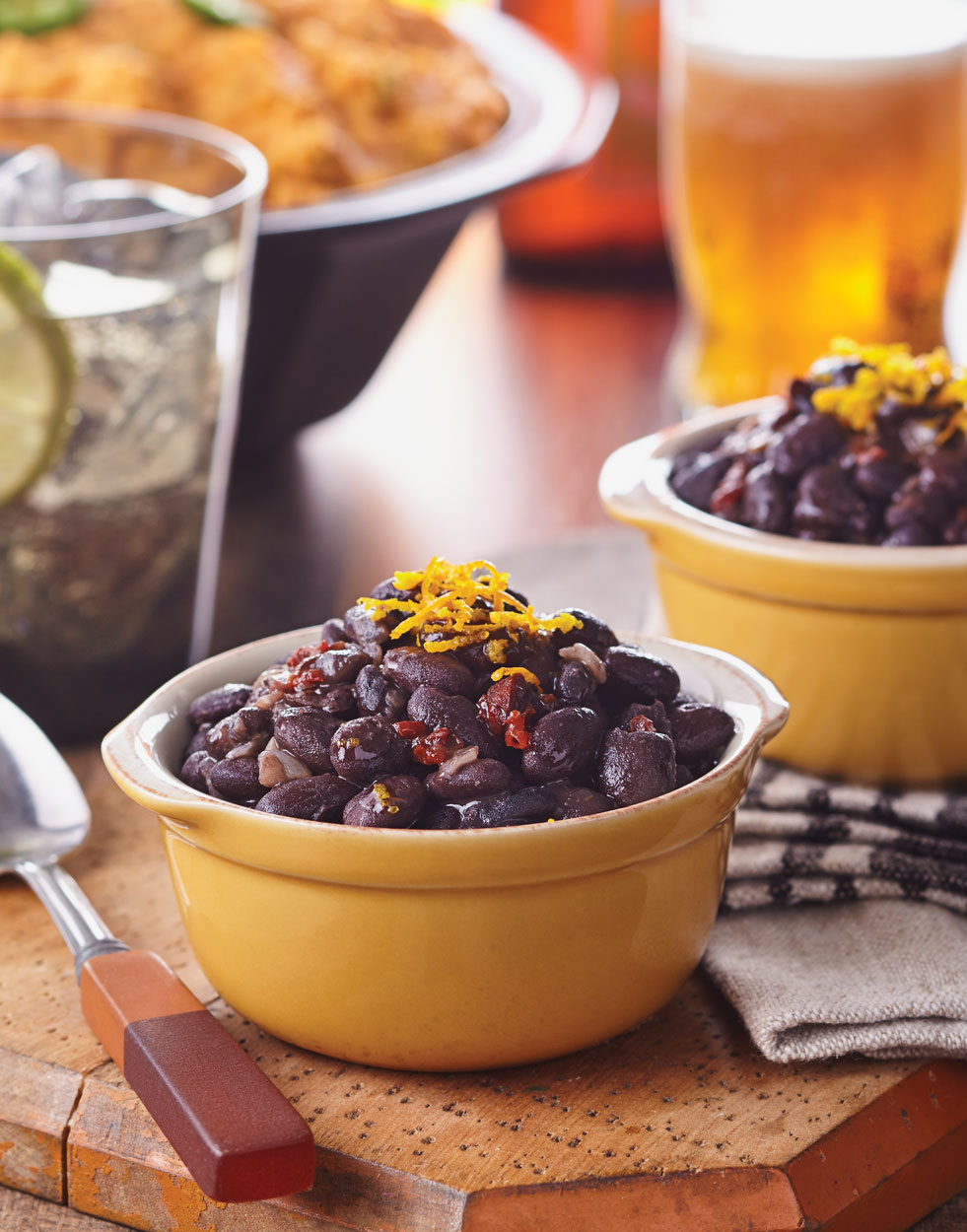 Black Beans with Chipotle, Lime & Orange