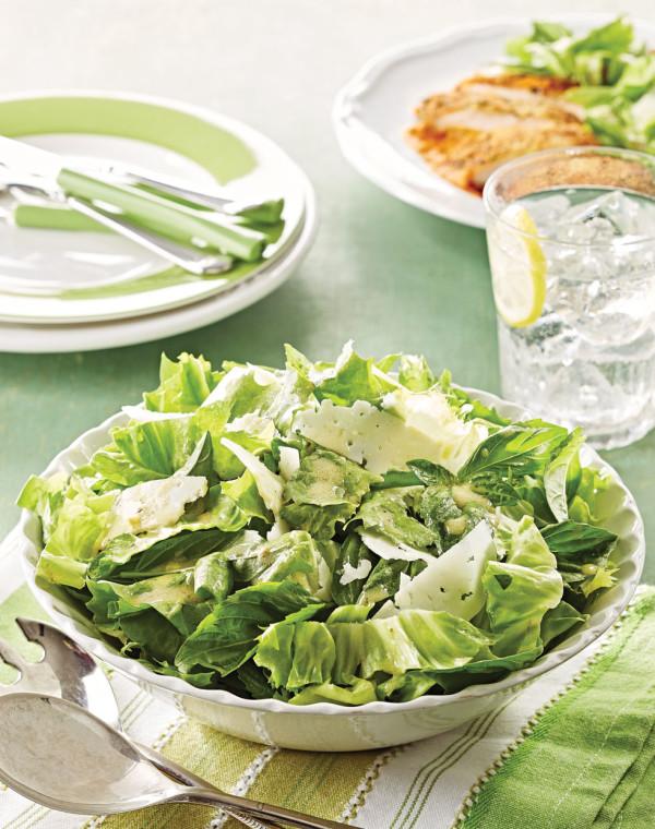 Escarole Salad with pecorino romano