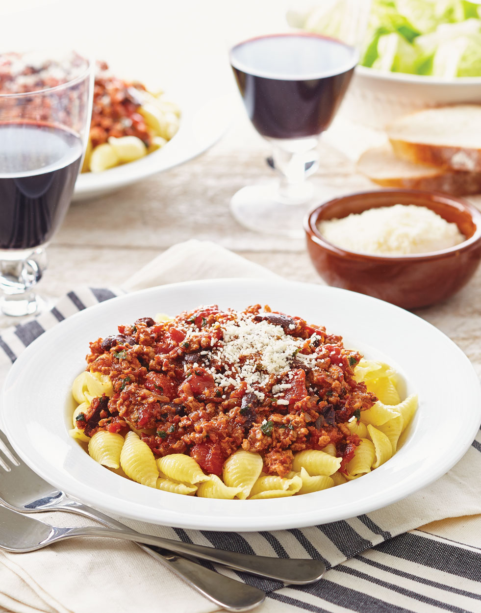 Pork Ragu with Olives & Sun-Dried Tomatoes