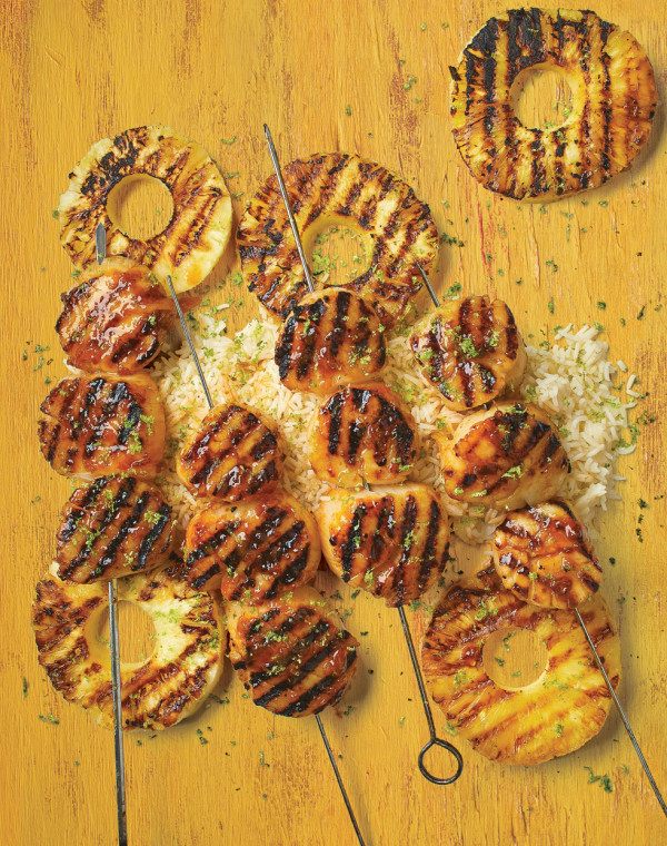 Sweet 'N Spicy Scallops with cashews