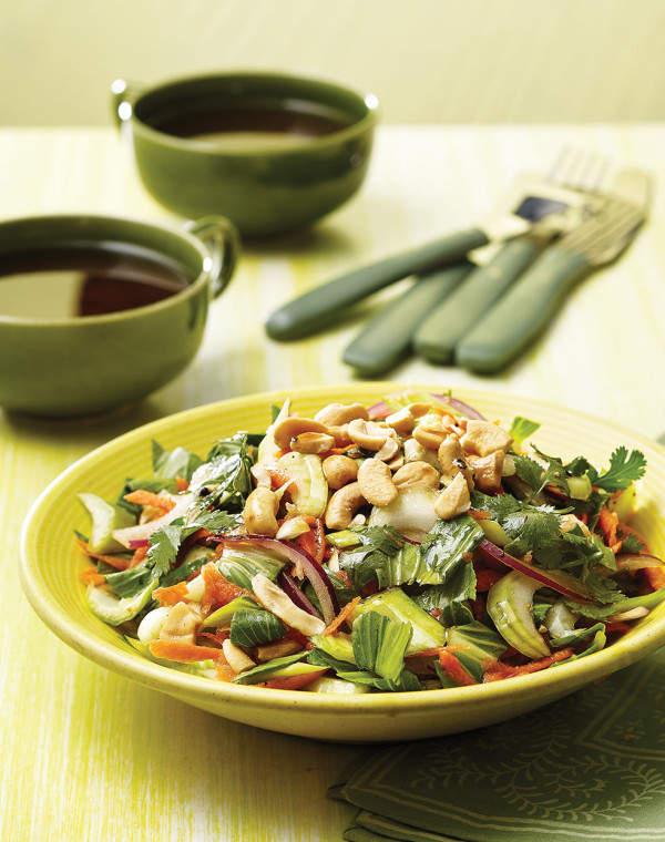 Bok Choy Chopped Salad with Cashews
