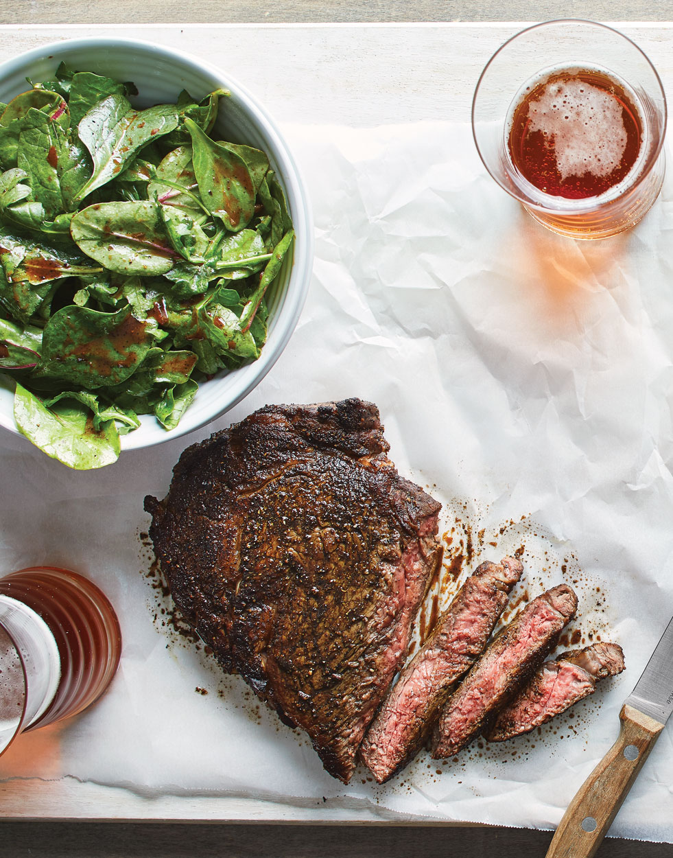 Coffee-Rubbed-Rib-Eye-and-Salad-with-Coffee-Balsamic-Vinaigrette-Lead