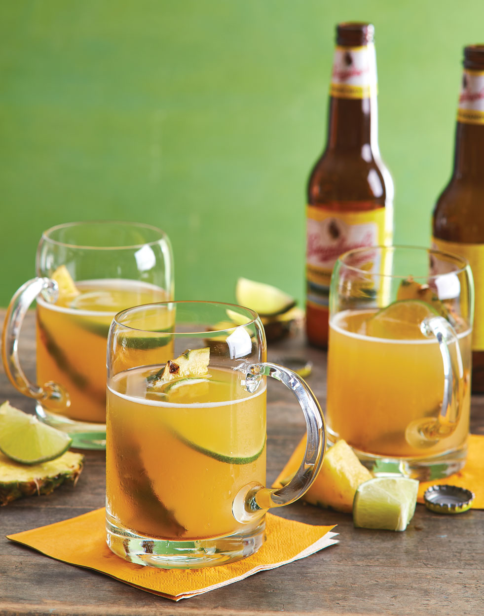 Tailgate Punch with Pineapple & Lime