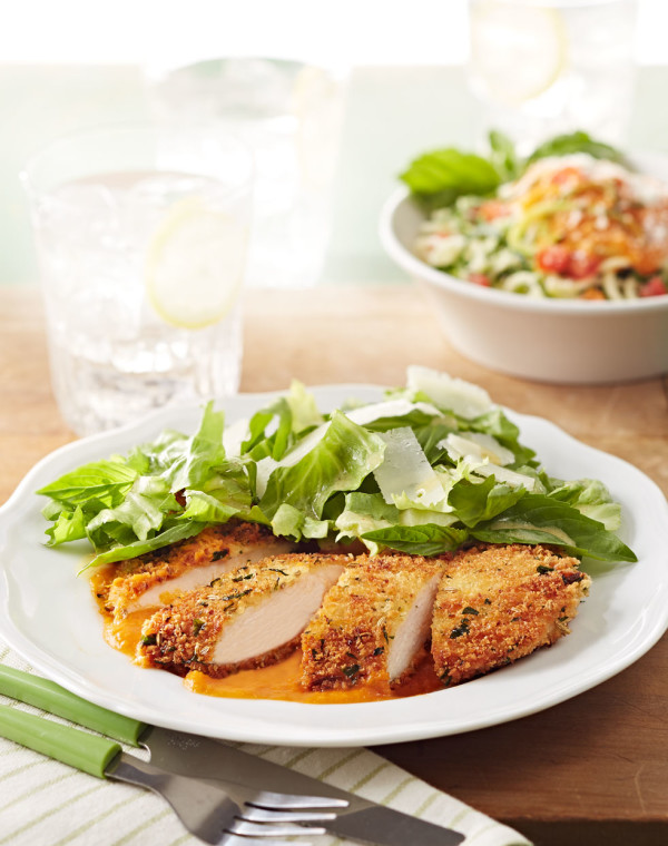Fennel-Crusted Chicken Cutlets