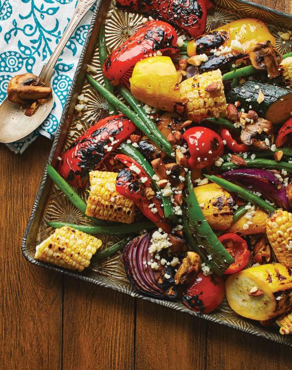 Smoky Grilled Vegetables
