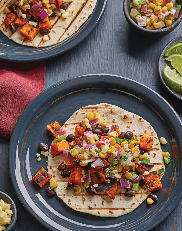 Grilled Sweet Potato Tacos