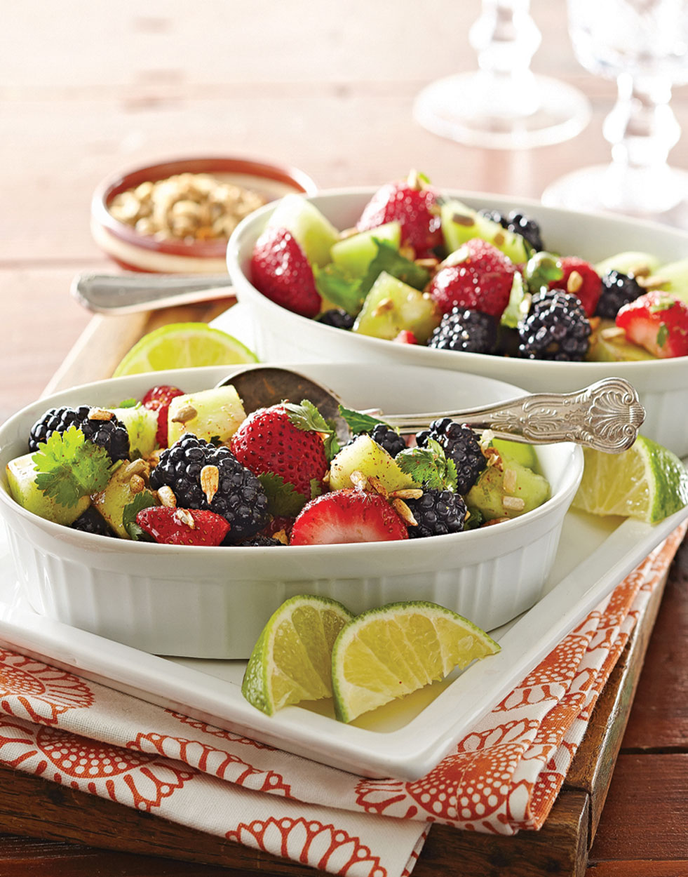 Melon & Berry Fruit Salad