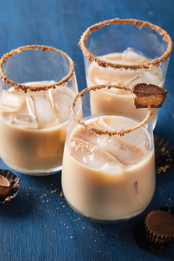 Peanut Butter Cup Cocktail with Skrewball Peanut Butter Whiskey