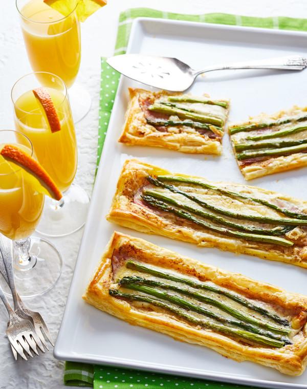 Asparagus & Ham Tarts