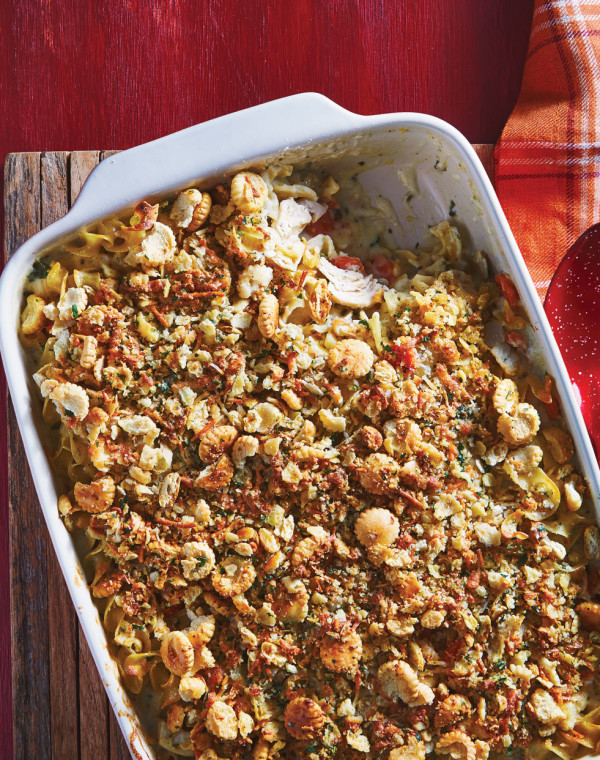 Creamy Ranch Chicken Noodle Casserole