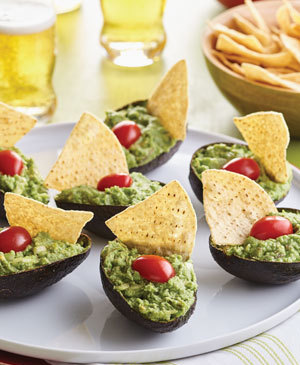 A Festive Way to Serve Guacamole
