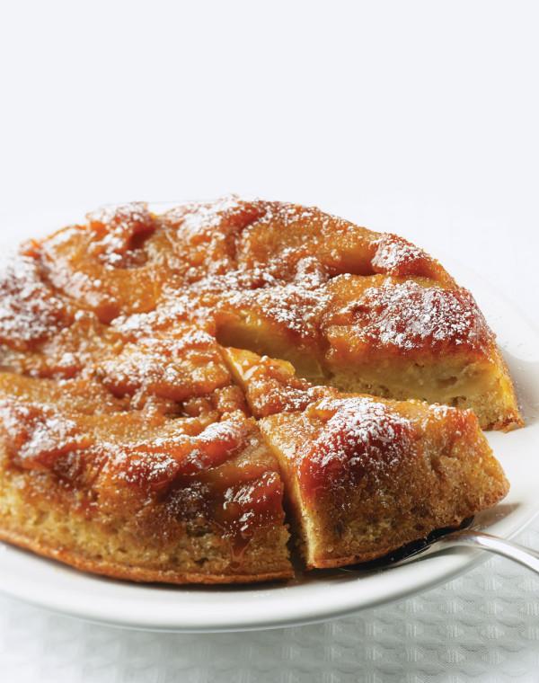 Brown Butter Apple Tarte Tatin Cake