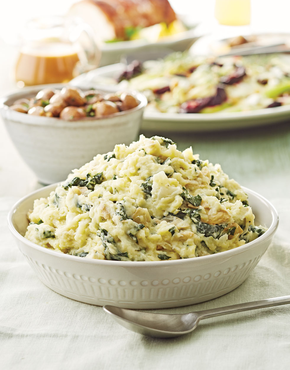 Colcannon with Kale & Cheddar