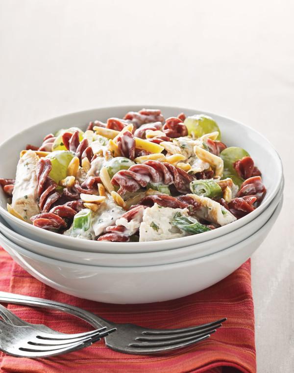 Tarragon Chicken Salad with Veggie Rotini