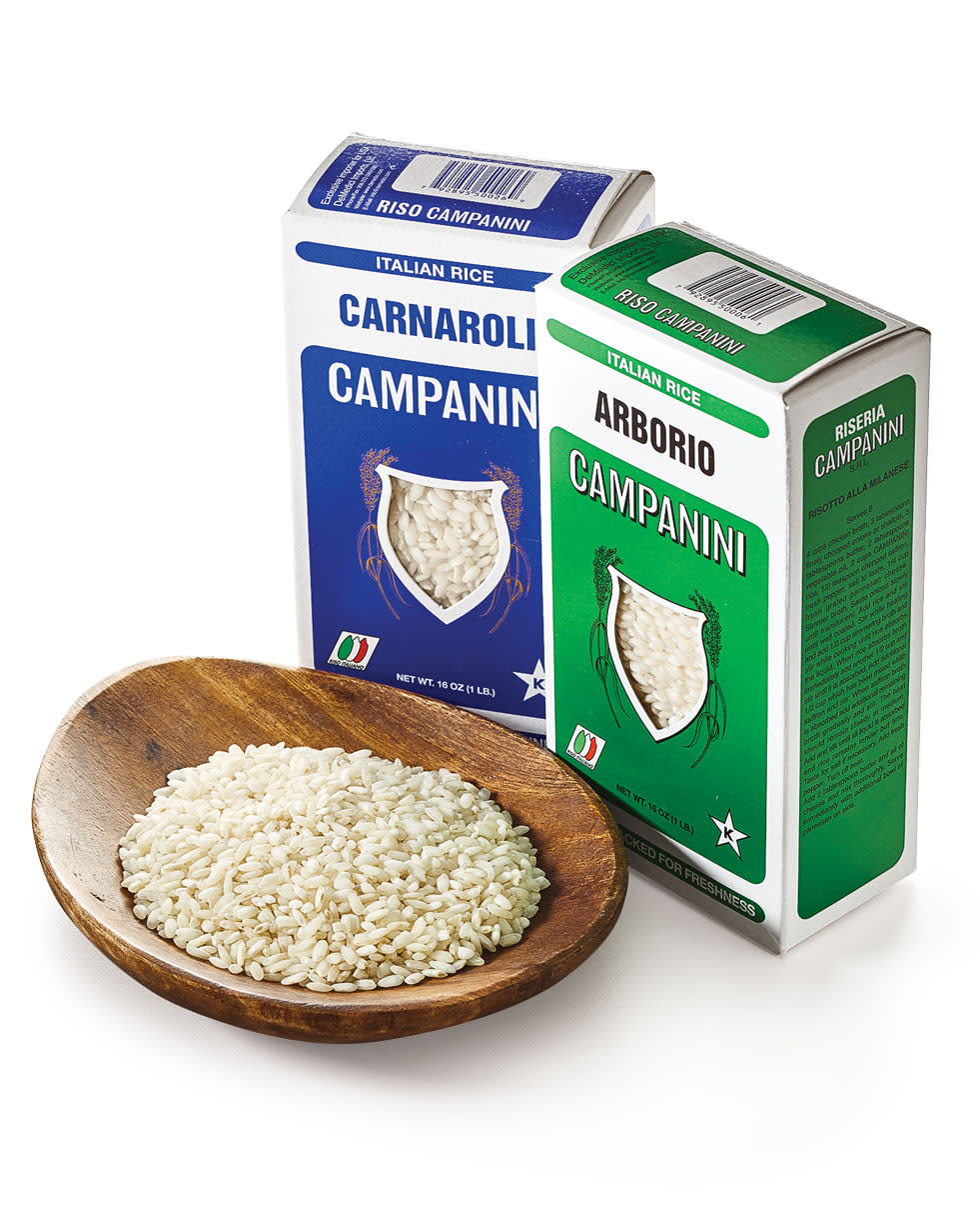 What type of rice is used for risotto? What's the difference between Arborio and Carnaroli rice?