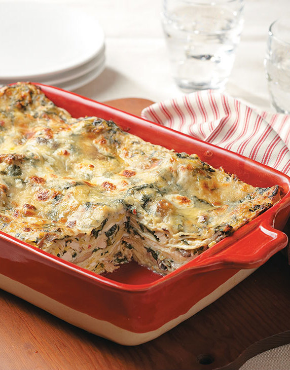 Boursin Turkey Lasagna