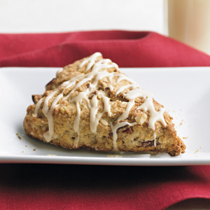 Oatmeal Scones with Maple Cream