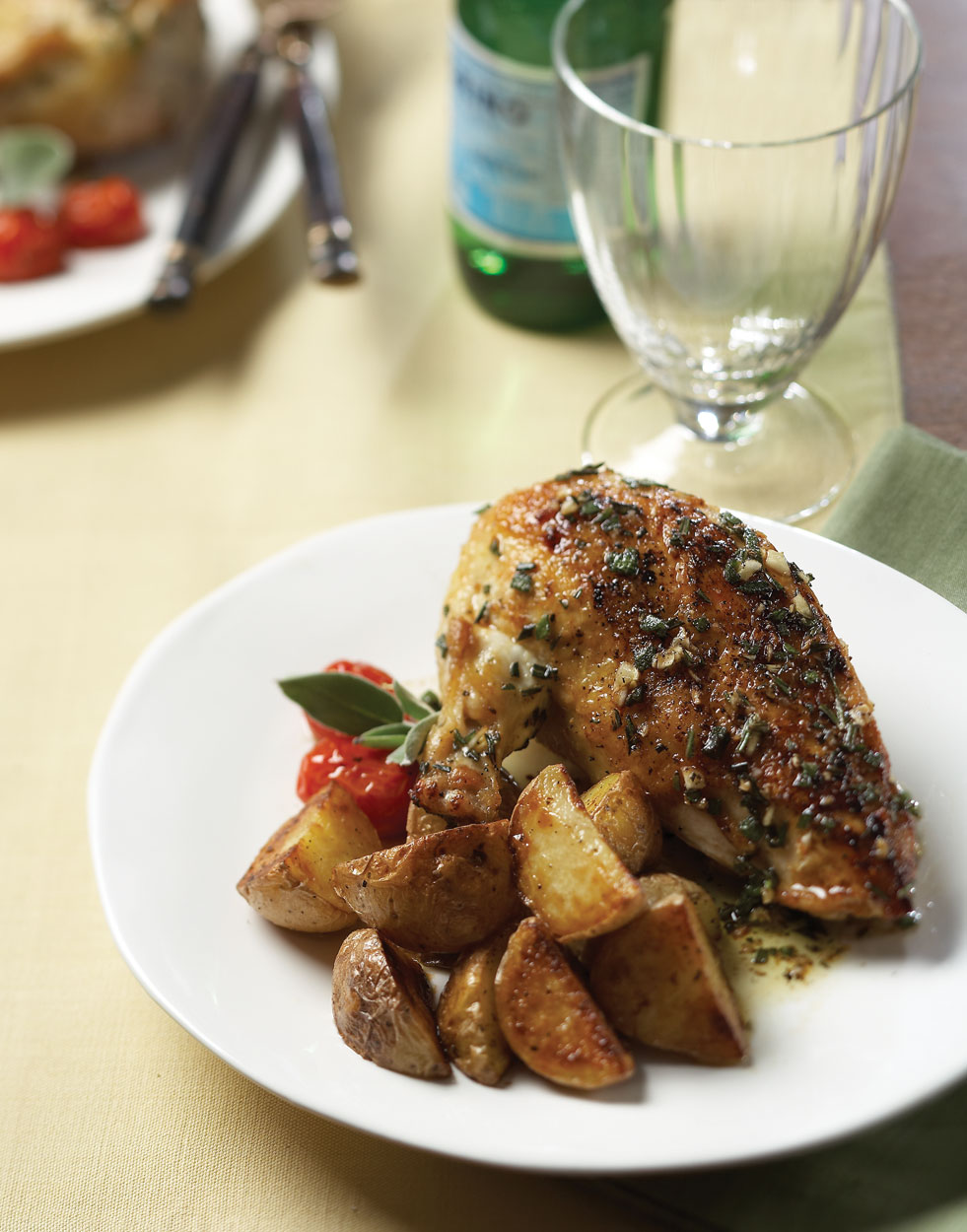 Marinated Chicken with Fresh Herbs