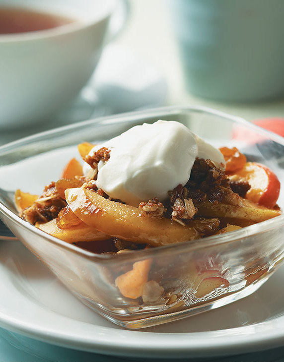 Stove-Top Apple Crisp