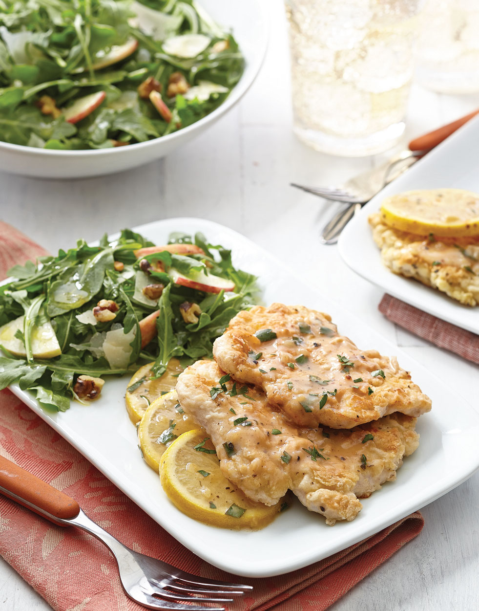 Light Chicken Francese