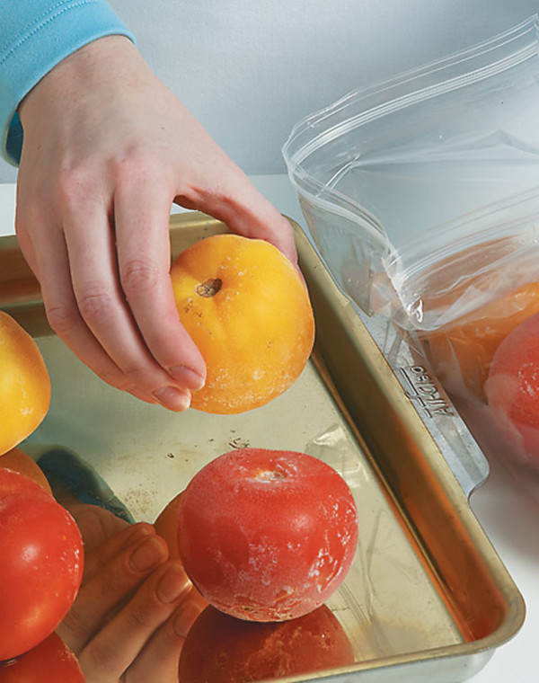 The Easiest Way to Preserve Tomatoes: Freeze Them Whole!