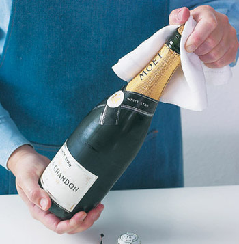 How to Properly Open a Champagne Bottle