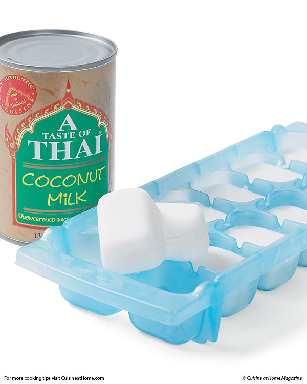 How to Store Leftover Coconut Milk-by Freezing!