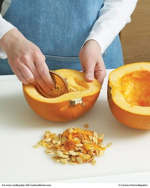 How to Clean Seeds from a Pumpkin