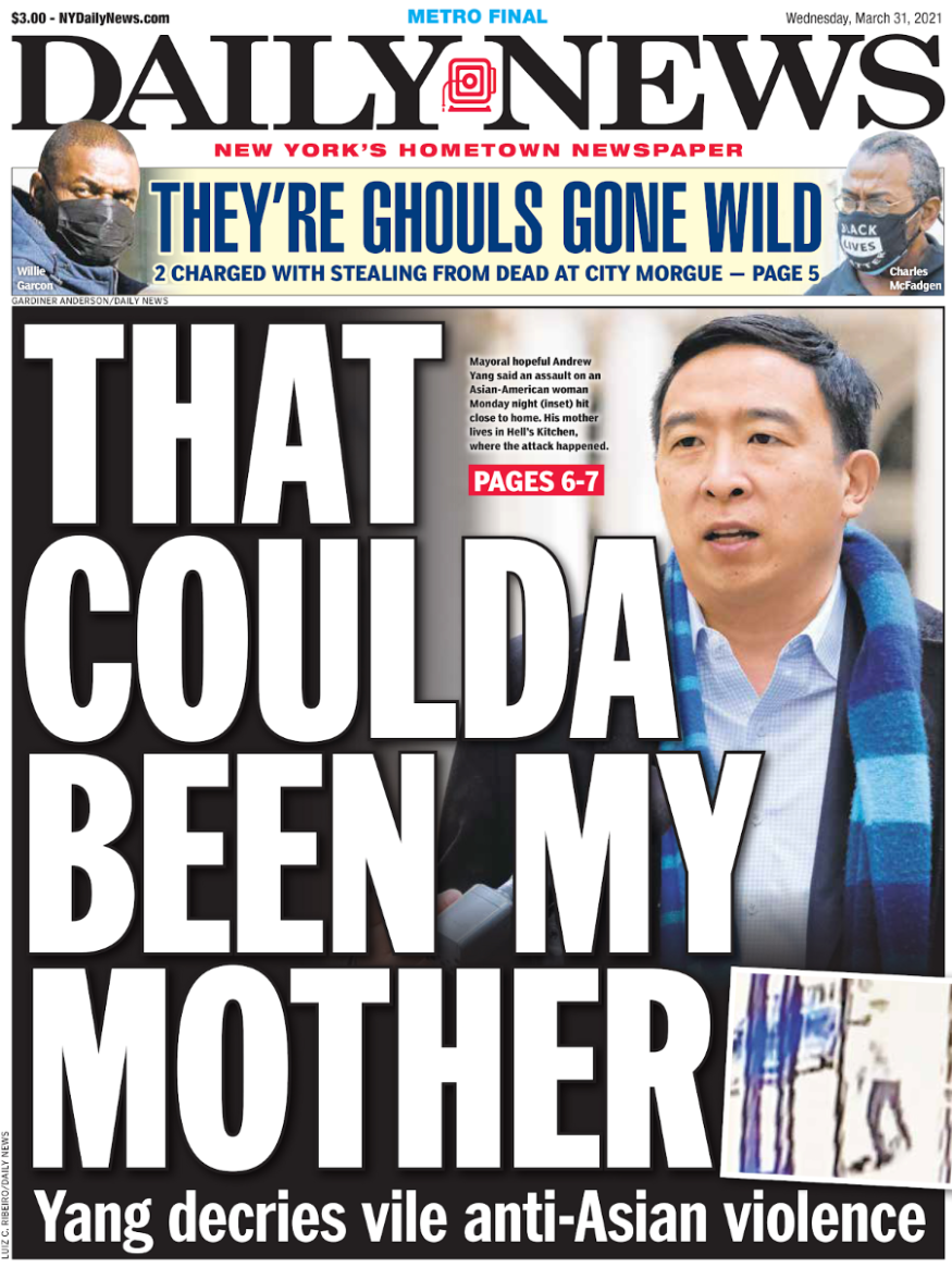 Andrew Daily News Cover