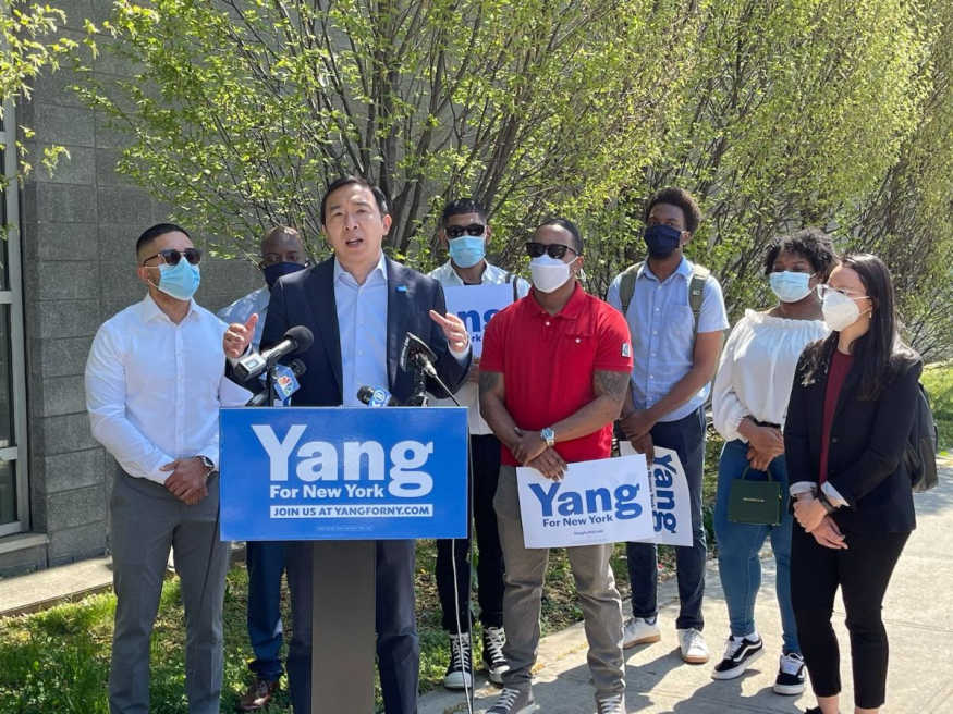 Andrew Yang announces new SYEP plan