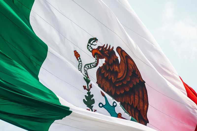 This is an image of the Mexican flag.