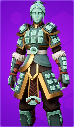 Hero Jade Warrior