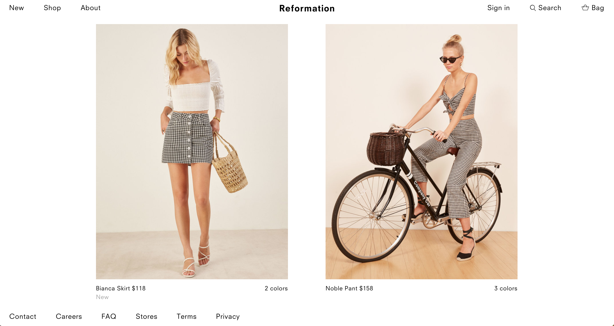 Reformation Bicycles - Damson