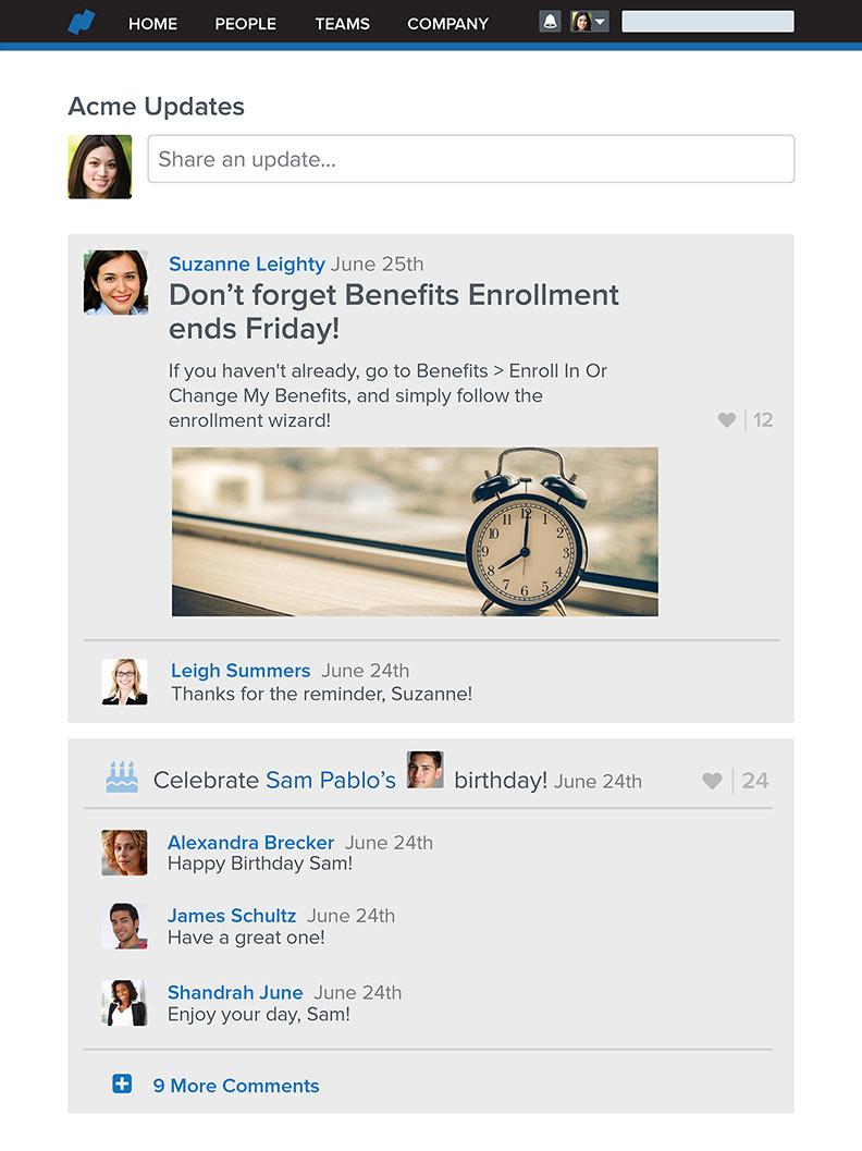 HR Software & HRIS   Payroll, Benefits, Time, Talent