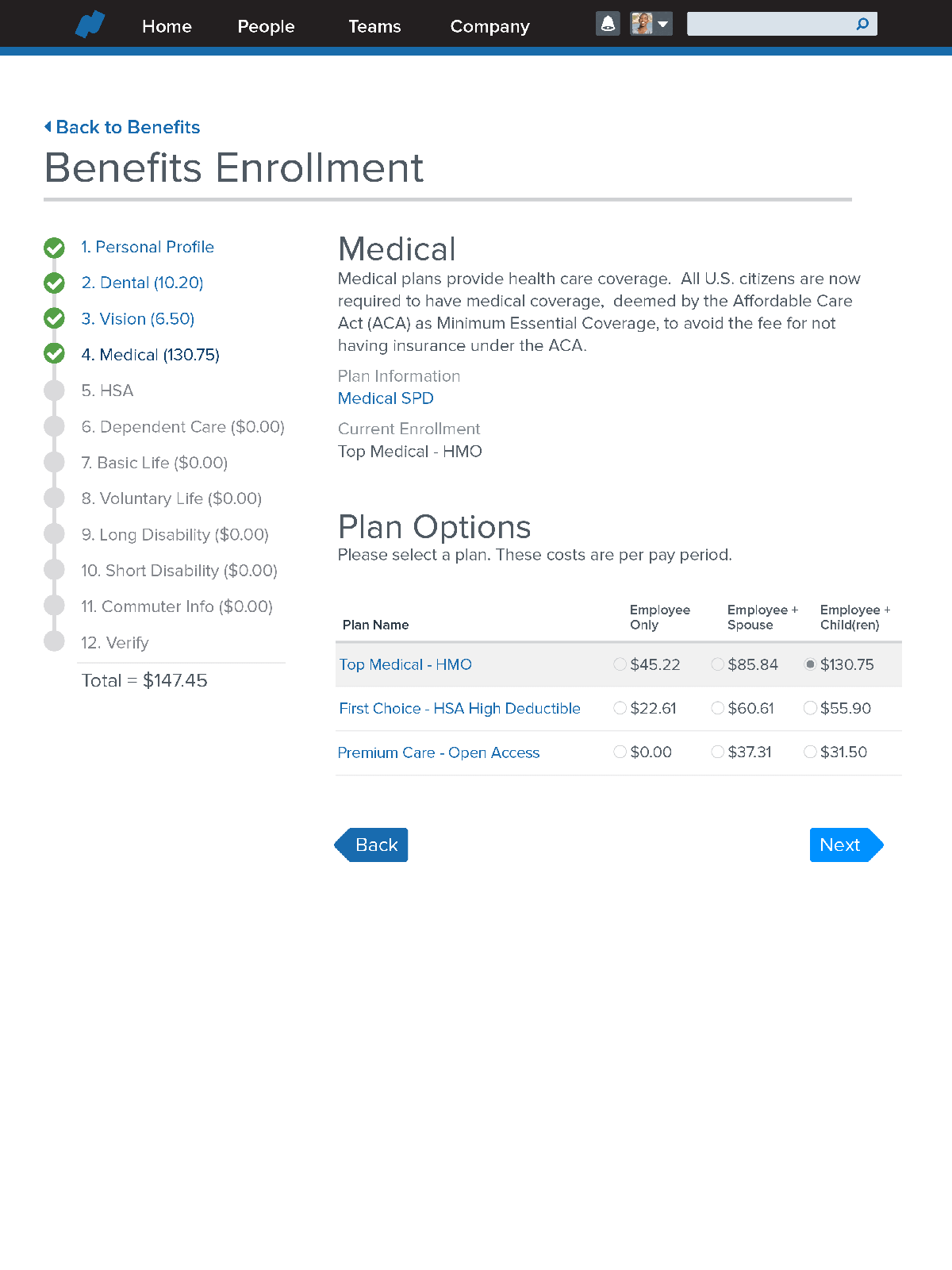 1.3 Benefits Carousel 01 EasyEnrollment