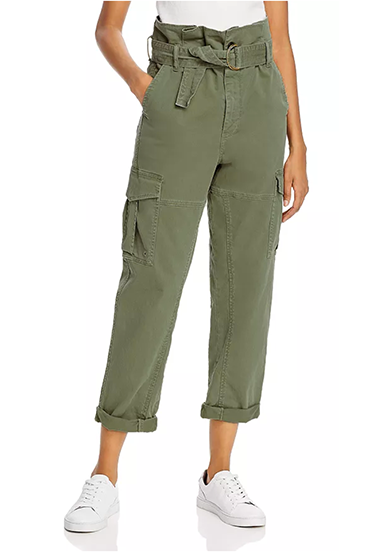 Safari Belted Cropped Pants