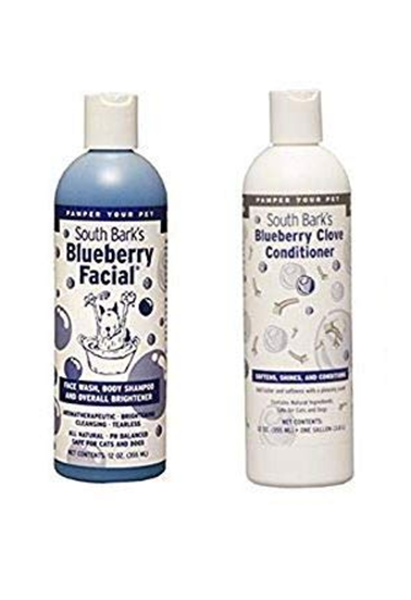 south Bark's Blueberry Facial & Bluberry Clove Conditioner