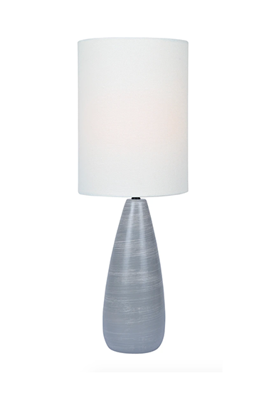 one grey lamp
