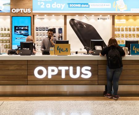 Sydney Airport | Retail - Shops - Optus