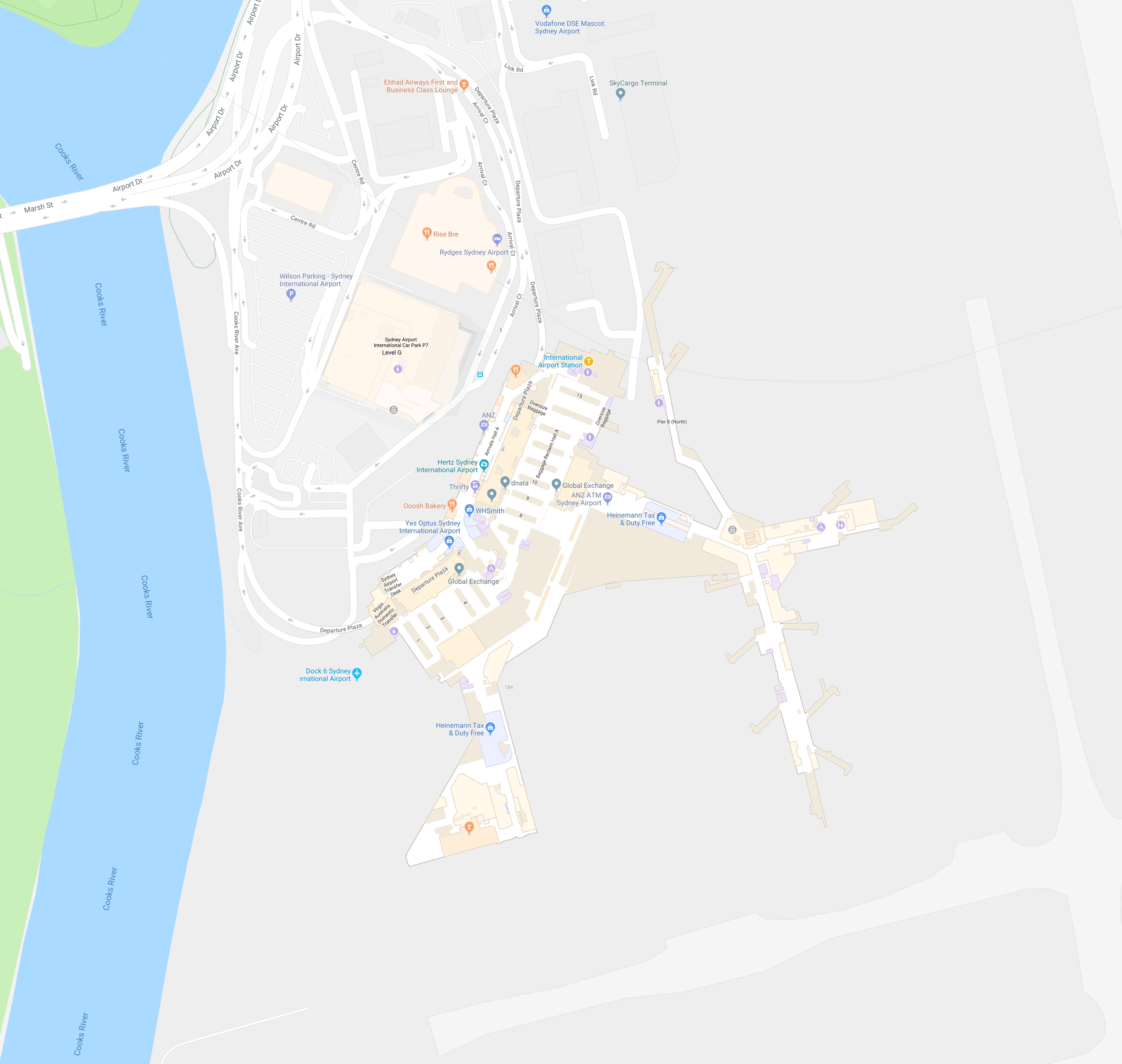 Sydney Airport   Retail - Restaurants - McDonald\'s