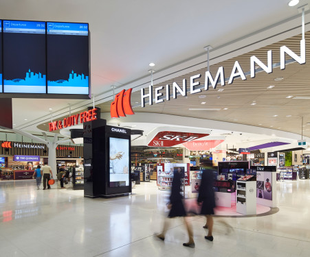 sydney airport shopping map Sydney Airport Retail Shops Heinemann Tax Duty Free sydney airport shopping map