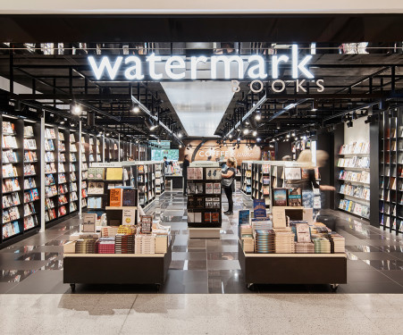 Sydney Airport | Retail - Shops - Watermark Books & Cafe