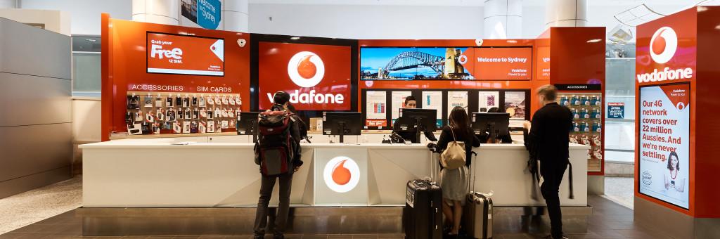 Sydney Airport | Retail - Shops - Vodafone