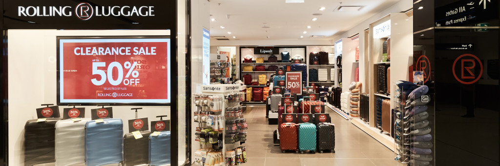 Sydney Airport | Retail - Shops - Rolling Luggage