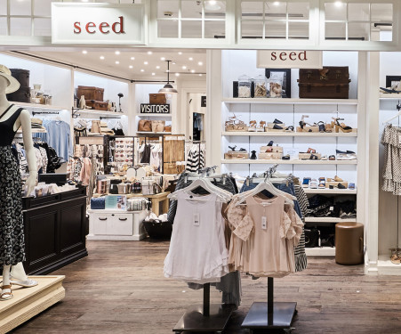 Sydney Airport Retail Shops Seed Woman