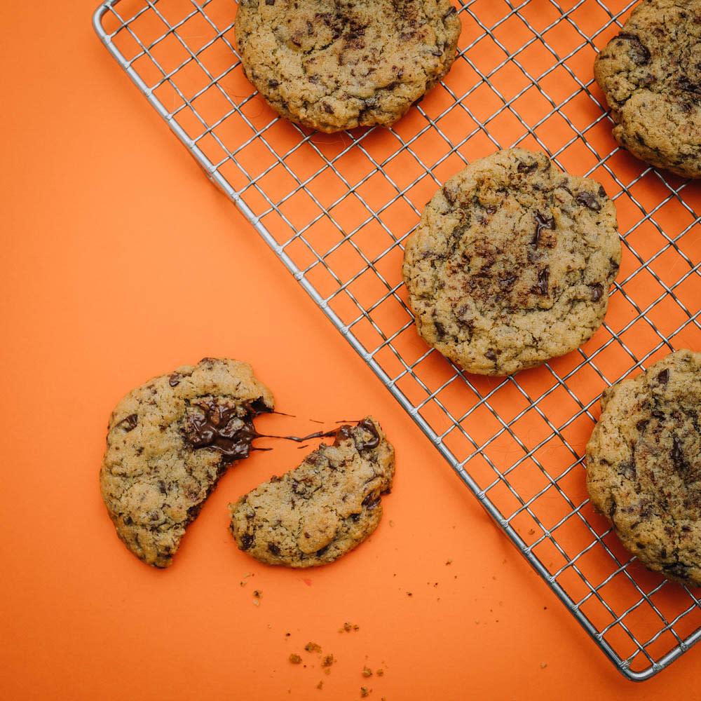 Iriksen chocolate chip cookies